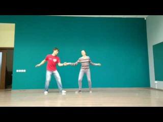 LINDY HOP Beginners. Sarasonov Oleg & Staroverova Asya 2017.05.31