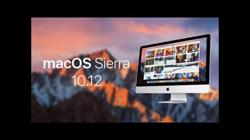 Установка macOS Sierra 10.12 на ПК / Installing macOS Sierra 10.12 on your PC