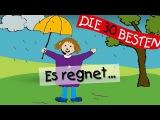 Es regnet - Die besten Kindergartenlieder  Kinderlieder