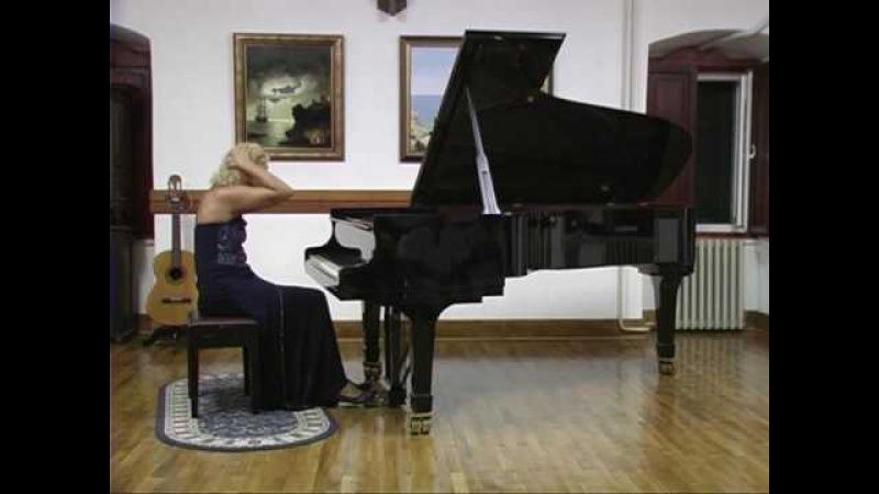 08.2007 Concert of Mira Marchenko in Herceg Novi, Montenegro. Fragments