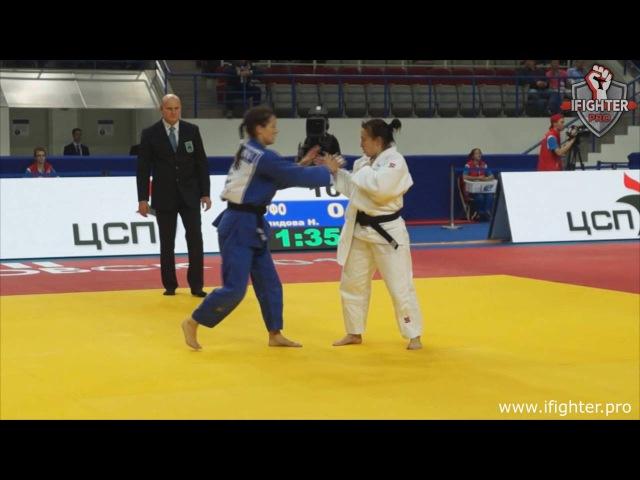 Дарья Межецкая vs Наталья Голомидова (-57 кг) | Финал. ЧР 2016