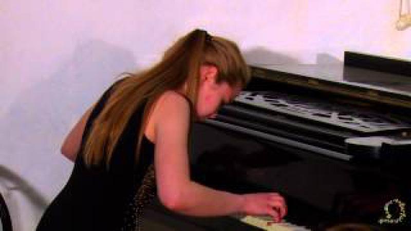 Бах Хорошо темперированный клавир 2 том Прелюдия и Фуга Соль мажор Ангелина Ив