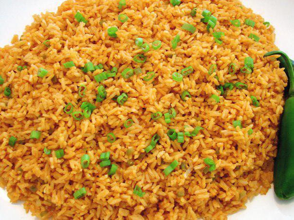 Вкуснейший жареный рис на гарнир Предлагаю вам рецепт