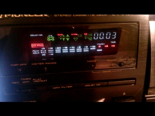 PIONEER CT-S420 SHOW CASE Stereo 3 head cassette deck