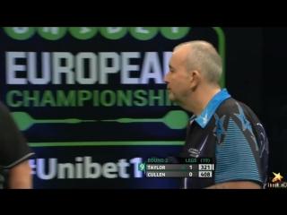 Phil Taylor vs Joe Cullen (PDC European Championship 2016 / Round 2)