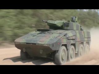 Rheinmetall defence - boxer 30мм lance турель 8x8 боевая машина пехоты [1080p]