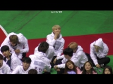 170116 2017 Idol Star Athletics Championships BTS Rap Monster Yawning