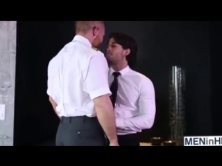 Hot gay kiss scene - diego sans and daddy