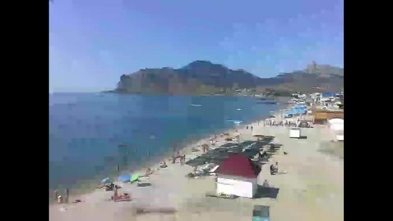 Нудийский пляж Коктебель