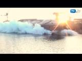 Спуск Норвежского парома Landegode на воду Гданьск