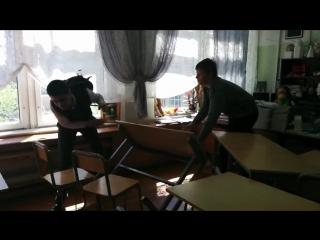 Обычный урок в России