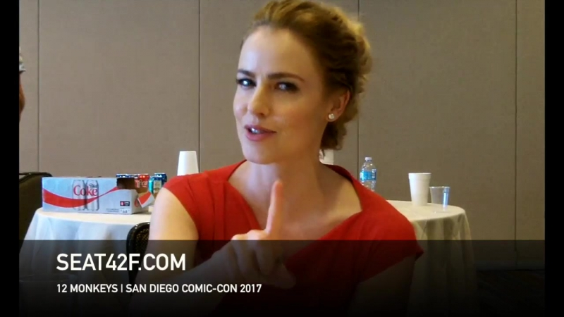 Amanda Schull интервью | 12 Обезьян | 12 Monkeys | Interview | Comic Con