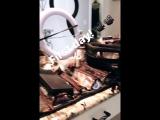 Личное видео из инстаграм-истории Лоры (17/07/17)
