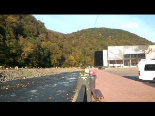Роза Хутор трос через реку