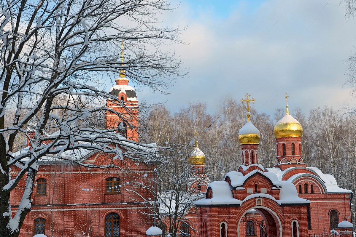 Храм Михаила Архангела г.Пущино