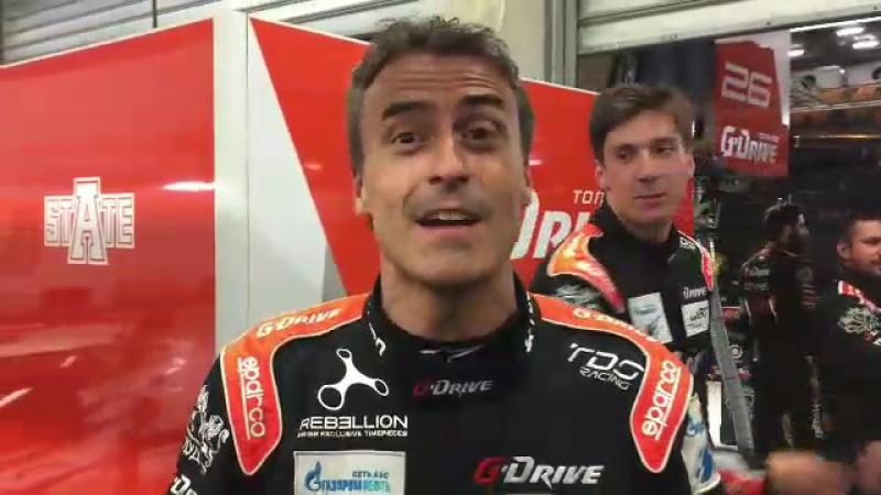 Болеем за российскую гоночную команду G-Drive Racing на гонке 24 часа Ле-Мана!