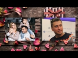 Образец поздравления любимого мужа с Днем Святого  Валентина на примере  Павла Прилучного и его жены Агаты
