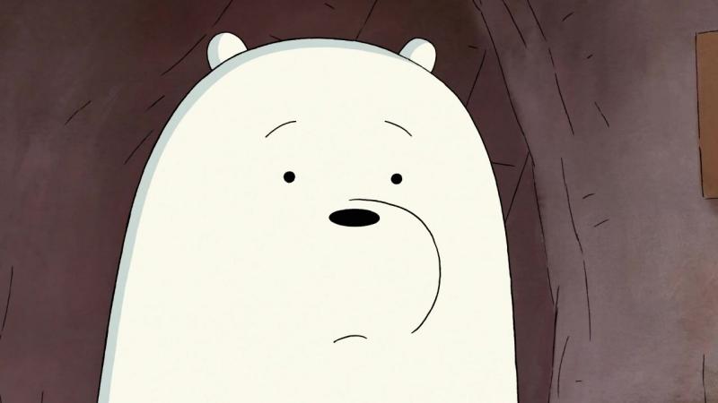 Белый самоустранился (We Bare Bears / Мы обычные медведи 3х04)