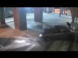 Гонки в казанском аэропорту - видео из салона авто