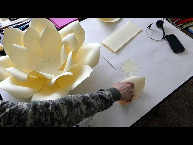 DIY Large Paper Flower, Paper flower Stencil, Paper Flower Backdrop, Backdrop Flowers