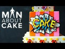 KAPOW Pop t Art Cake in 3D Man About Cake with Joshua John Russell