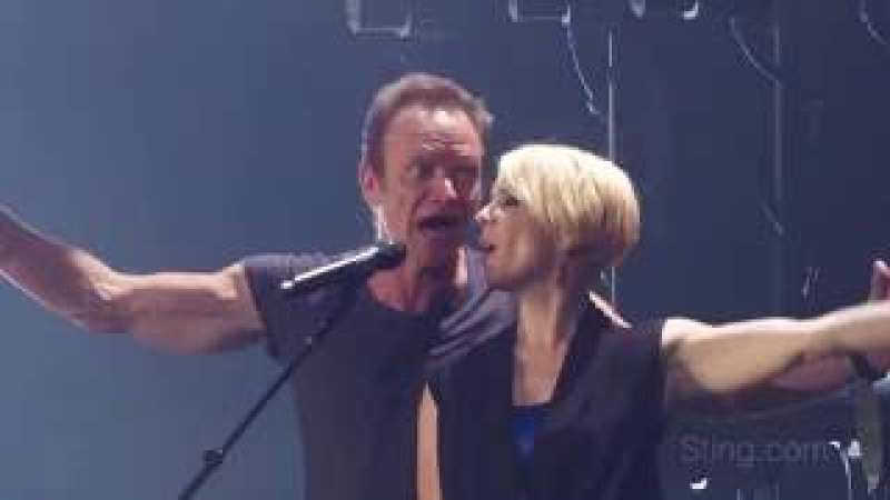 Sting Peter Gabriel - In Your Eyes live 2016 Rock Paper Scissors Tour