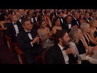 Watch: Jimmy Kimmel roasts Matt Damon at the Oscars 2017