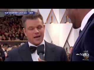 Matt Damon says Oscars host Jimmy Kimmel is Talentless