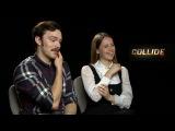Nicholas Hoult amp Felicity Jones Interview About Their Film - Collide