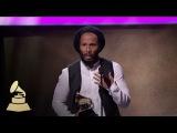 Ziggy Marley Wins for Best Reggae Album  Acceptance Speech  59th GRAMMYs