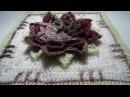 Crochet 3D Flower Square nr 1