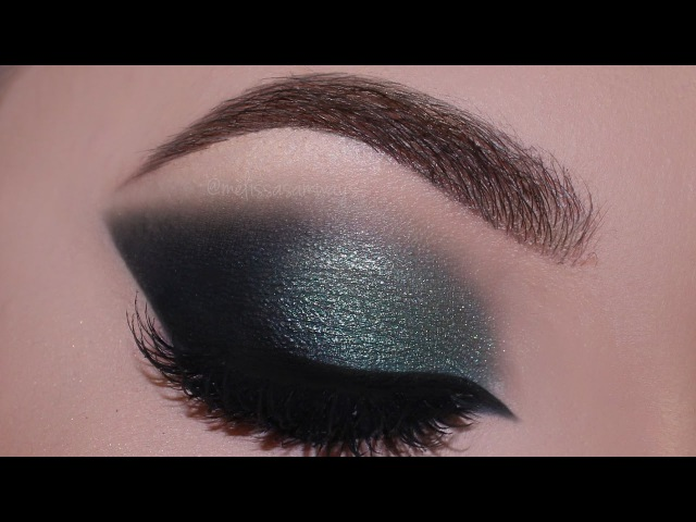 ♡ Olive   Teal Green Smokey Eyes ♡ Make Up Tutorial   Melissa Samways ♡