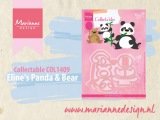Build a Panda &amp Bear with the Collectable COL1409