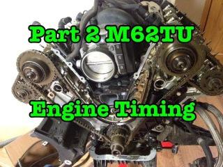 Ремонт ГРМ BMW M62TU V8 540i 740i X5 E38 E39 E53