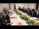 Германия Лавров встретился с Государственным Секретарем США Тиллерсон на полях Г20