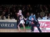 Marthe Brinch Rhode - Sandra Sorensen, DEN Final SAMBA 2017 WDSF World Open Latin in Tokyo