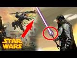 Все о Звездных Войнах Какое оружие мощнее и древнее светового меча