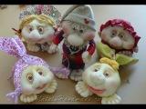 Куклы из чулок, колготок. Dolls of the stocking. Видео обзор 2.