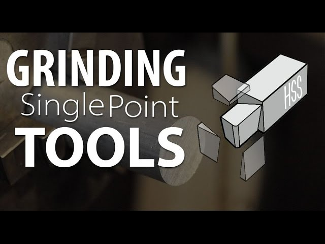 Grinding HSS Tools