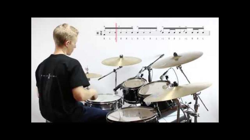Daily Chops 14 – Odd-metre Drum Fill no. 2: 7/8 Blushda Fill