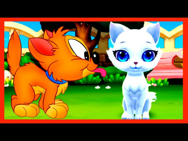 Pussy Cartoon GAME for Kids Pets Kitty Kitty meow