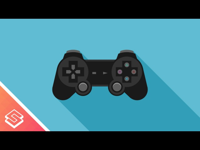 Inkscape Tutorial: Vector Playstation Controller