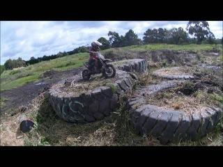 Kogan Lock -Age 6- Endurocross Training TkII