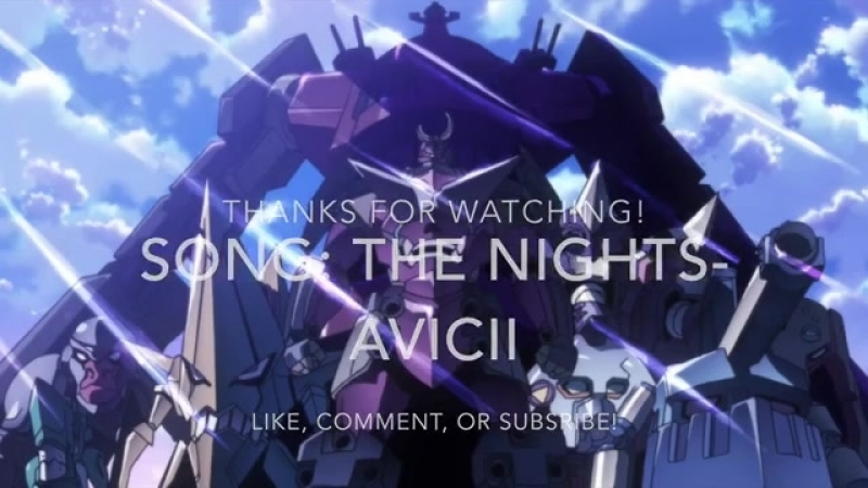 Sonc The Nights - Avicii (AMV)
