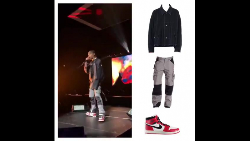 Travis Scott`s Outfit