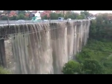 Злива перетворила мст на водоспад