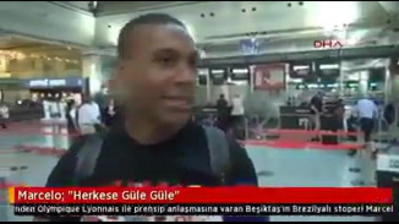 Marcelodan veda mesajı! Lyona transfer olan Marcelo bu sabah Türkiyeden ayrıldı. Marcelo Herkese güle güle. @MarceloGuedes