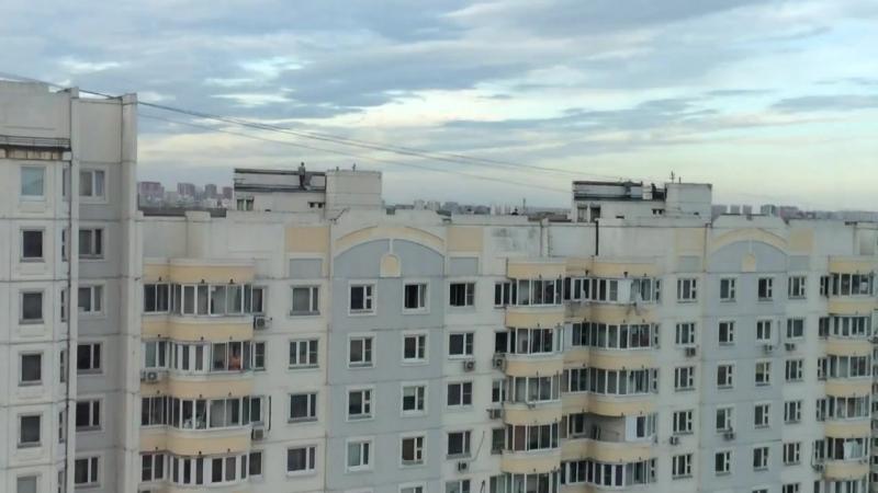 Подростки на крыше 1 Южное Бутово