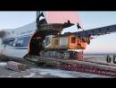 Это была очень интересная работа Перевозка буровой установки самолетом Руслан АН 124