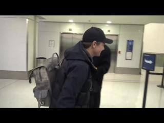 20 января 2017 Джереми в аэропорту Лос-Анджелеса